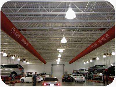 机械汽车 —法瑞风管系统在机械汽车行业的应用