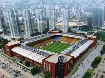 天津东丽体育中心羽毛球馆