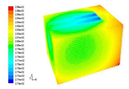 冷库CFD模拟效果图